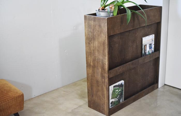 アンティーク調の本棚