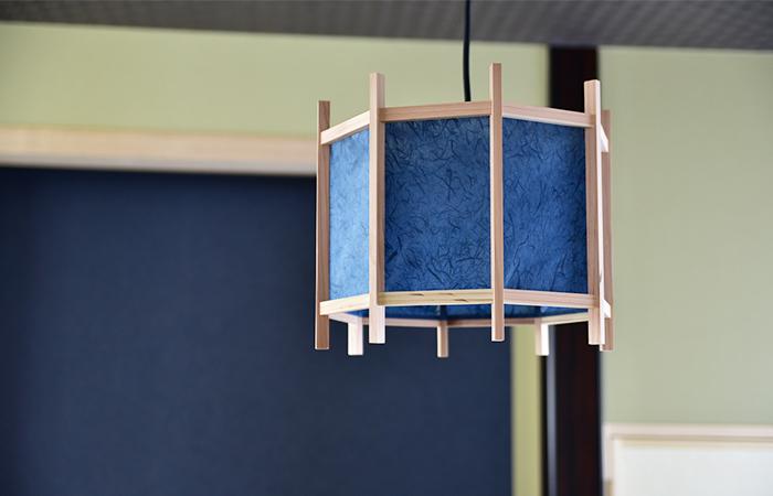 洒落た和室照明を作ってみました。